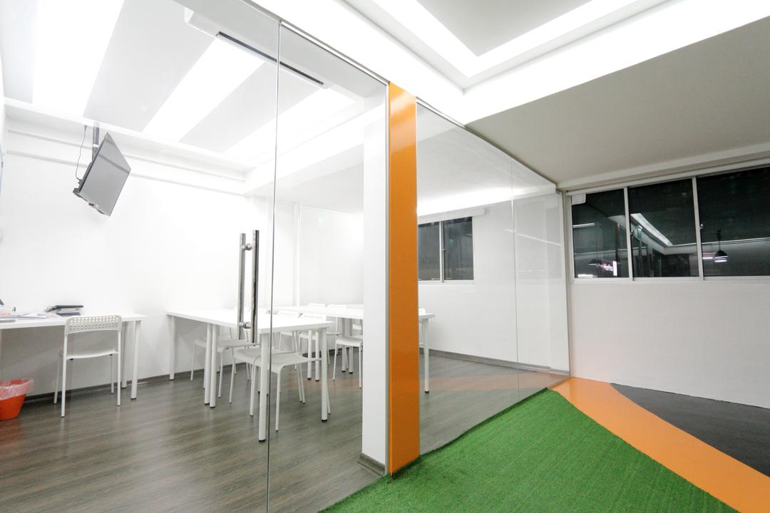 New Dawn Learning Centre, Singapore Carpentry, Minimalistic, Commercial, Door, Glass Door, Glass Partition, Classroom