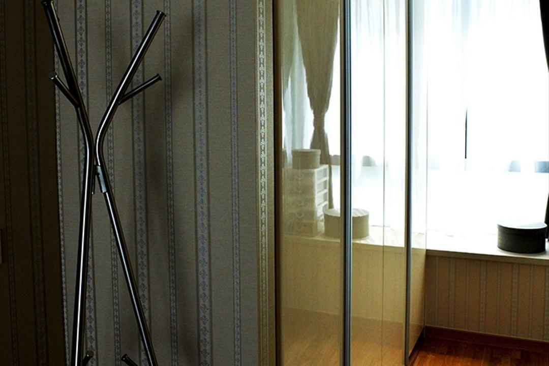 Simei Lane (Block 168C), Singapore Carpentry, Contemporary, Bedroom, HDB, Coat Rack, Laminates, Wardrobe