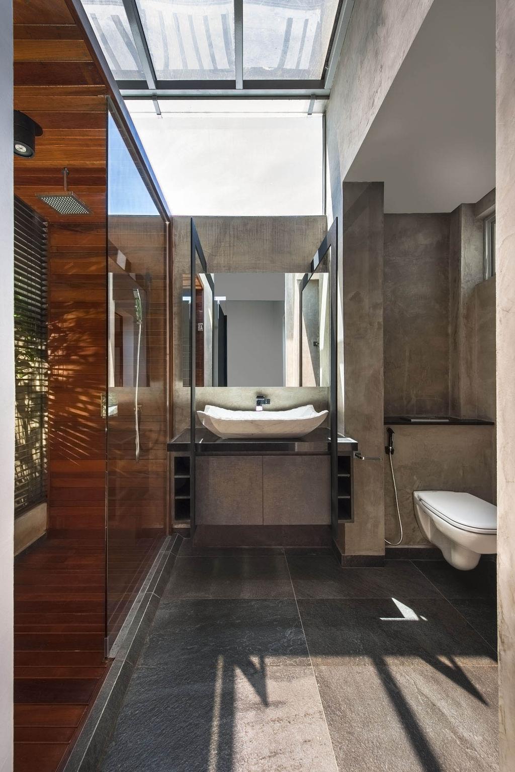 Contemporary, Condo, Bathroom, The Nclave, Interior Designer, Prozfile Design, Object Object, Toilet, Indoors, Interior Design, Room