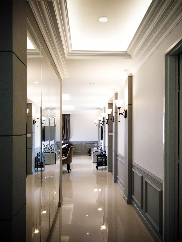 Contemporary, Condo, Living Room, Le Yuan, Interior Designer, Double Art Design Studio, Appliance, Electrical Device, Oven, Corridor