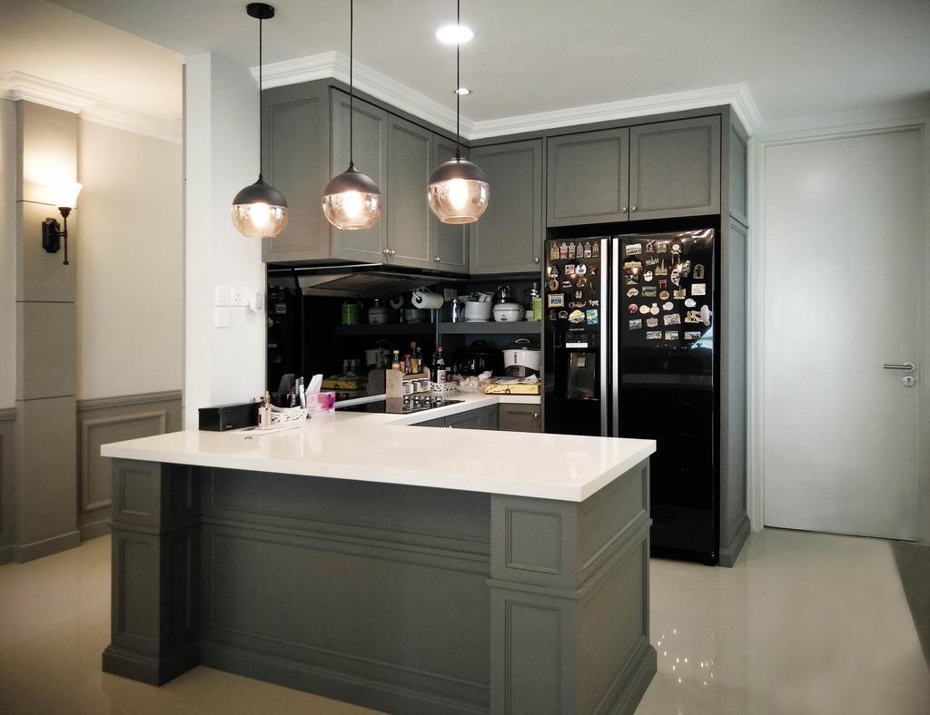 Contemporary, Condo, Kitchen, Le Yuan, Interior Designer, Double Art Design Studio, Machine, Vending Machine, Indoors, Interior Design, Room