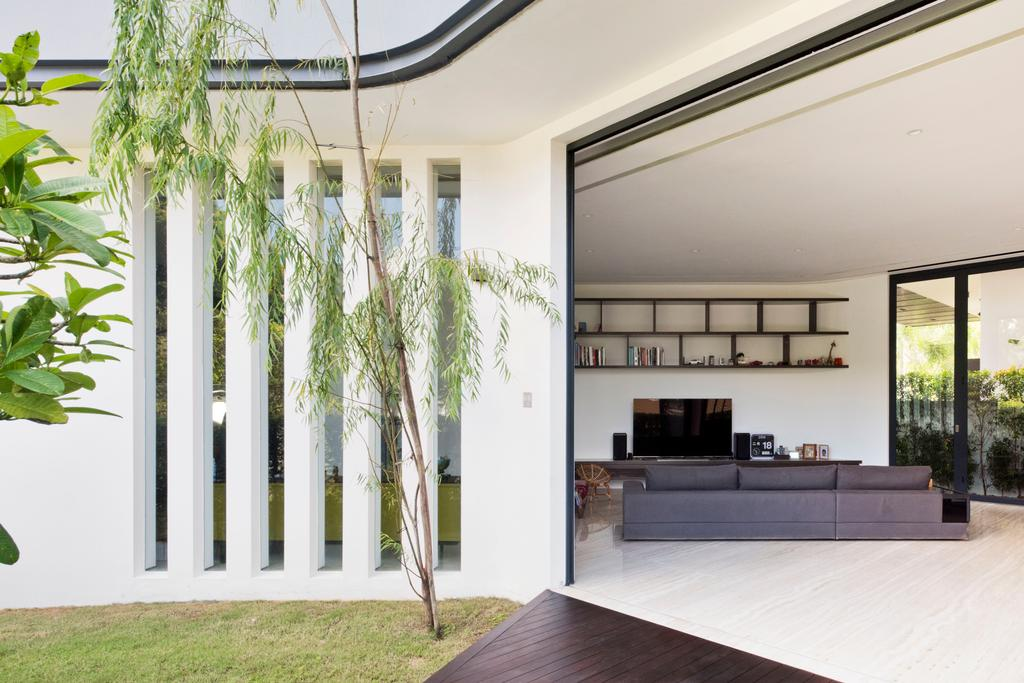 Traditional, Landed, Garden, 30 Ripley Crescent, Architect, 7 Interior Architecture, Bright, Airy, Open Concept, Plants, Nature, , Spacious, Expansive, Natural Light, Building, House, Housing, Villa, Indoors, Interior Design
