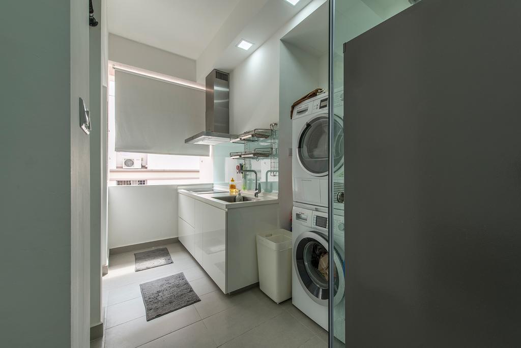 Modern, Condo, Kitchen, Pasir Panjang, Interior Designer, Alpina Woody