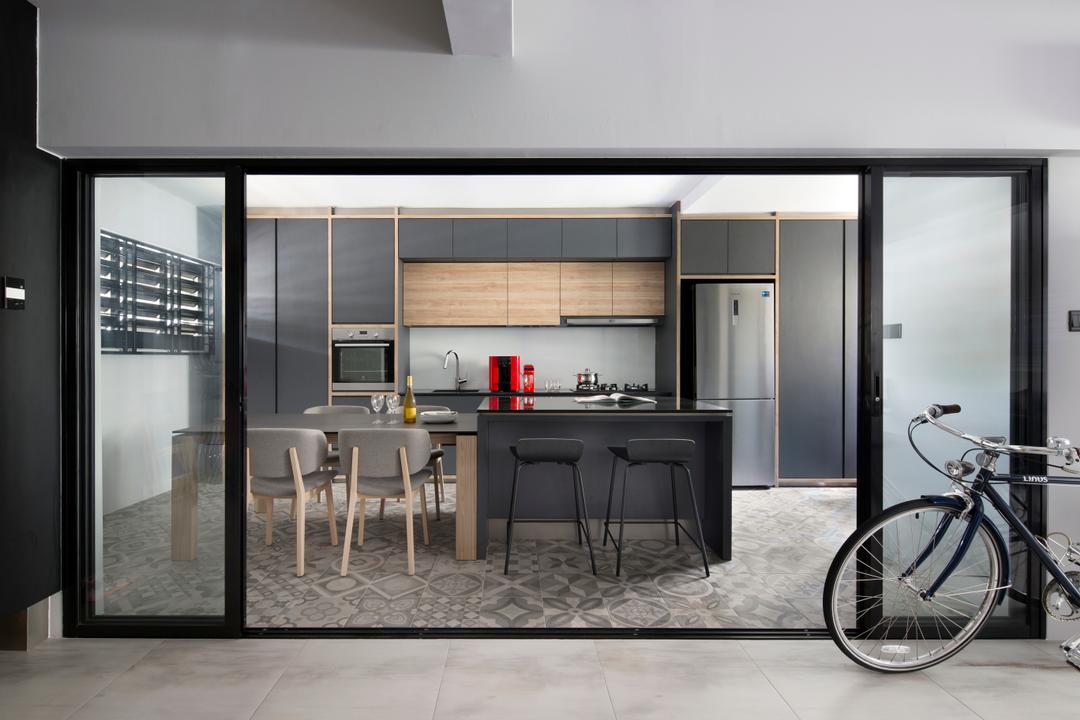 Dakota Crescent (Block 60) Kitchen Interior Design 1