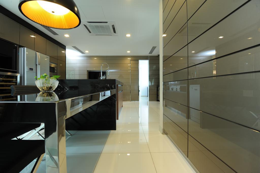 Modern, Condo, Duplex Condo, Interior Designer, SQFT Space Design Management, Dining Table, Furniture, Table