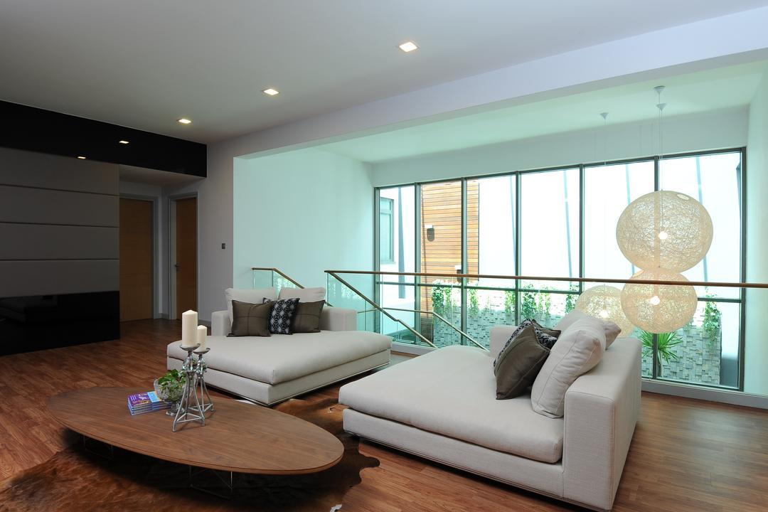 Duplex Condo Living Room Interior Design 6