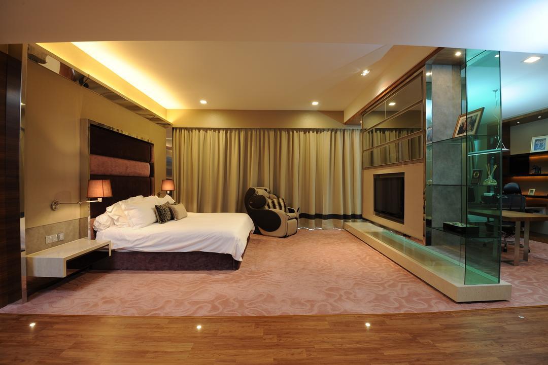 Duplex Condo, SQFT Space Design Management, Modern, Bedroom, Condo, Indoors, Room, Basement