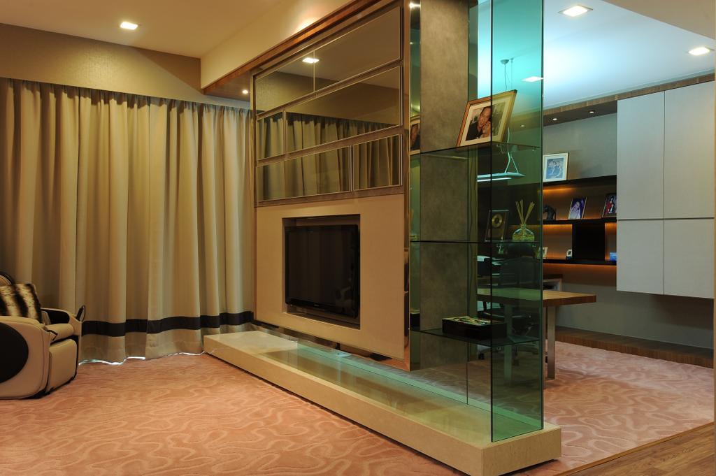 Modern, Condo, Bedroom, Duplex Condo, Interior Designer, SQFT Space Design Management, Couch, Furniture, Flooring, Basement, Indoors, Room