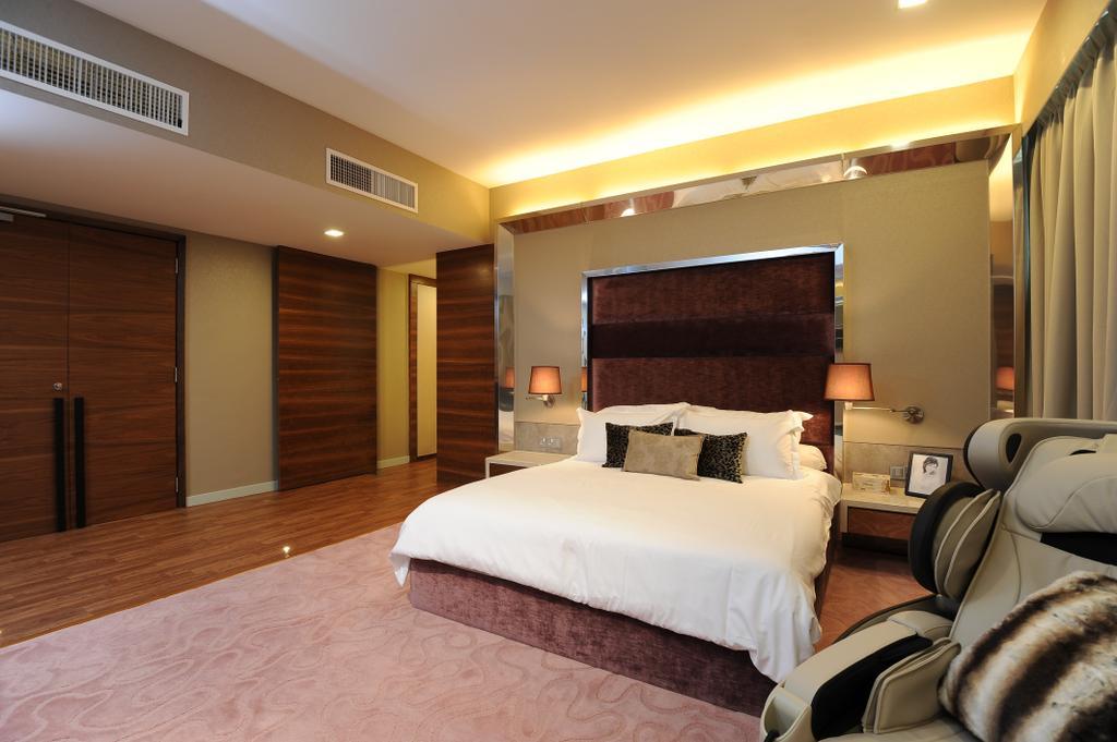 Modern, Condo, Bedroom, Duplex Condo, Interior Designer, SQFT Space Design Management, Bed, Furniture, Indoors, Room, Interior Design