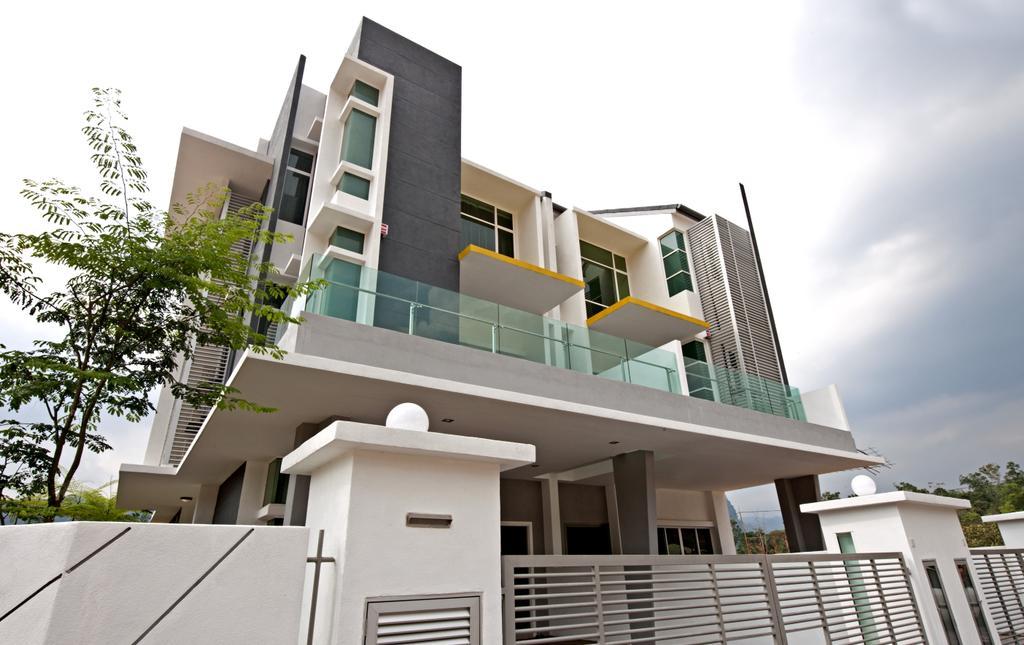 Modern, Landed, Balcony, SuperLink-Templer Park, Interior Designer, SQFT Space Design Management, Building, Housing, House, Villa, Apartment Building, City, High Rise, Town, Urban