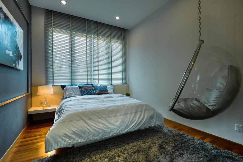 Modern, Landed, Bedroom, Dolomite Templer Park, Selayang, Interior Designer, SQFT Space Design Management, Indoors, Interior Design, Room