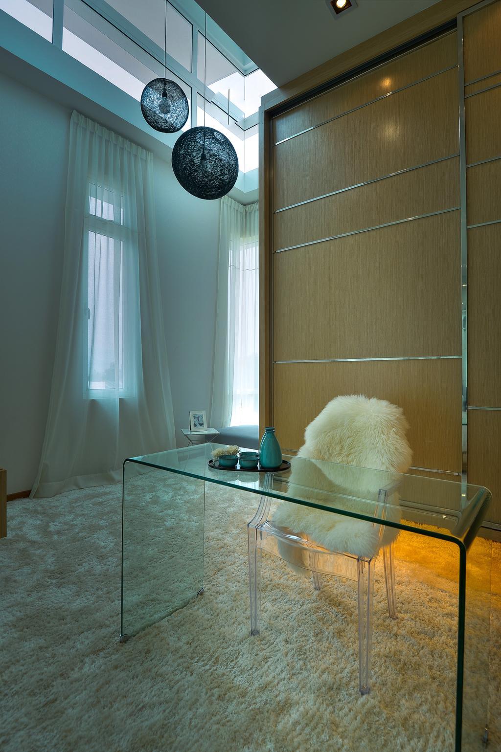 Modern, Landed, Bedroom, Dolomite Templer Park, Selayang, Interior Designer, SQFT Space Design Management
